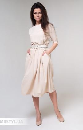 Платье La Fama 1524 Бежевый