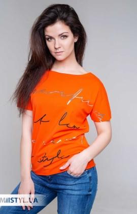 Футболка Giocco 5746 Оранжевый/Принт