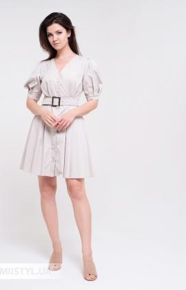 Платье Body form BF-785 Серый