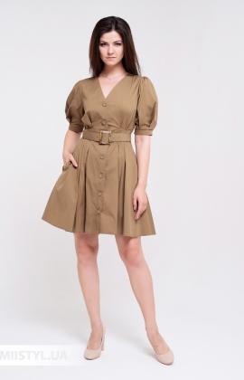 Платье Body form BF-785 Хаки