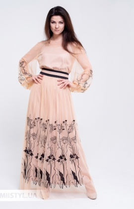 Платье Rica Mare RM1366-20VP Бежевый