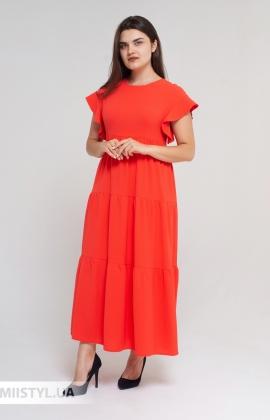 Платье Nikolo Polini 3098 Коралловый