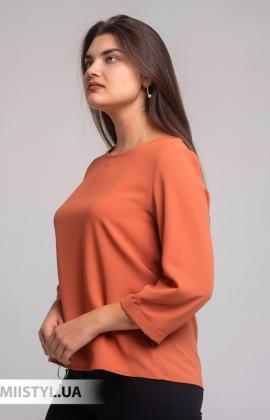 Блуза Pretty Lolita 12865 Светлый/Терракотовый