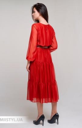 Платье Miss Lilium 11059 Терракотовый
