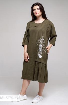 Платье Marimor 7006 Хаки