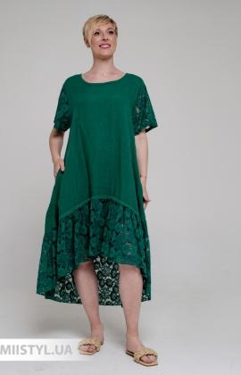Платье Miss Cocco 6116 Зеленый
