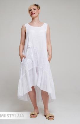 Сарафан Miss Cocco 6293 Белый