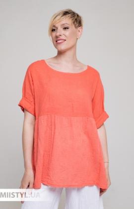 Блуза Miss Cocco 6093 Коралловый