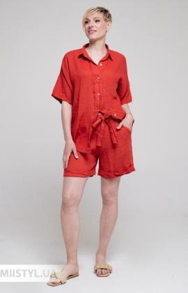 Костюм Puro Lino 8953/8845 Красный