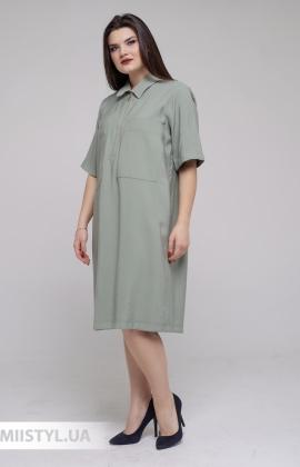 Платье DZYN 9066B Хаки