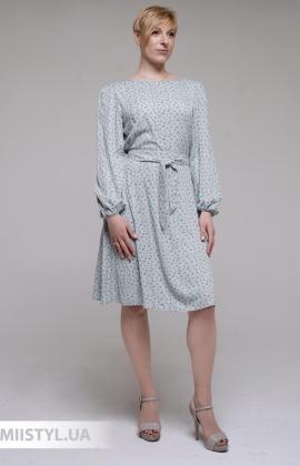 Платье GrimPol 2104 Мятный/Принт