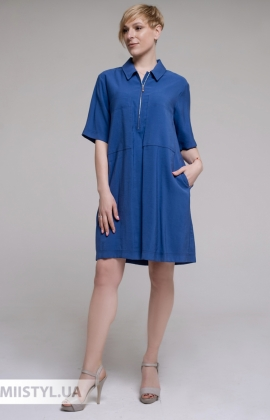 Платье DZYN 9066 Индиго