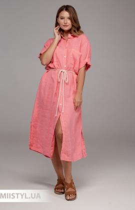 Платье Zelante 7076 Розовый