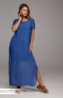 Платье Puro Lino 6785 Электрик