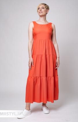 Платье Rica Mare RMD2341-21DD Коралловый