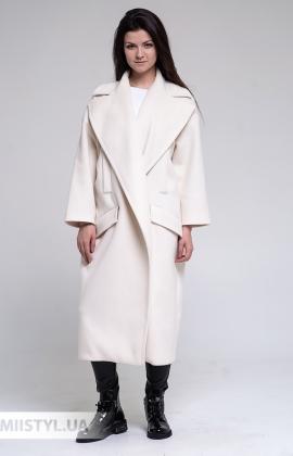 Пальто Imperial KG26ATO Молочный