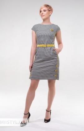 Платье Lady Morgana 5114 Черный/Лайм/Лапка