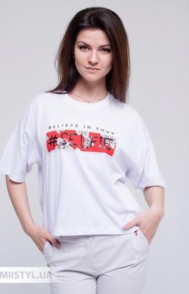 Футболка Firstage FIR3-12809 Белый/Красный/Принт