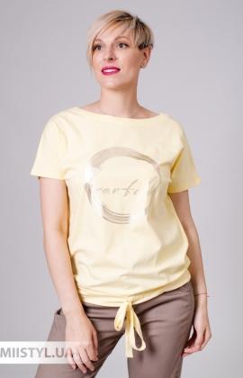Футболка Giocco 5945 Желтый/Принт