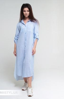 Платье Rica Mare RM2233-20DD Голубой