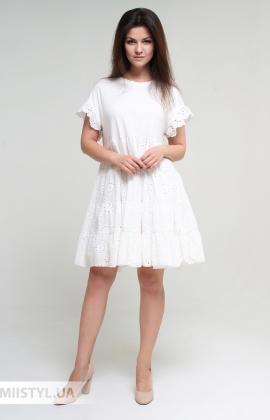 Платье Mahoy F286 Белый