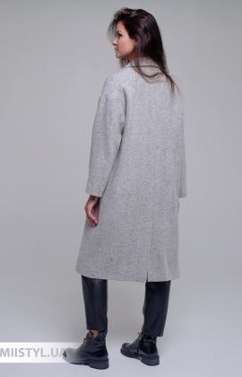 Пальто SHN 1117-720 Серый