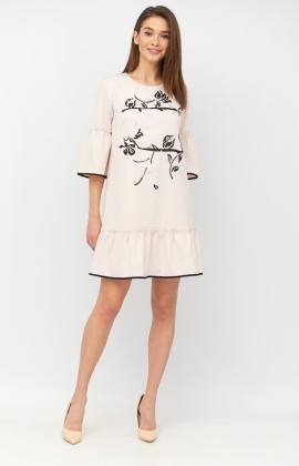 Платье RM1265-19DD Бежевый