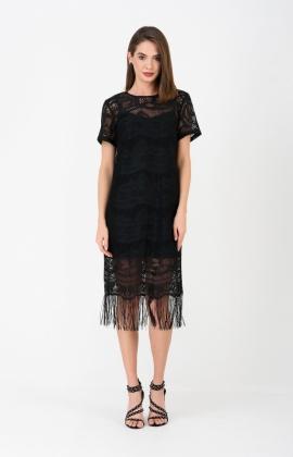 Платье RM1942-1-19VC Черный
