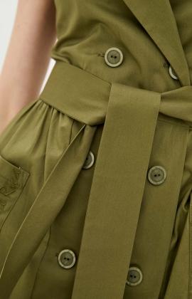 Платье RM2322-21DD Хаки