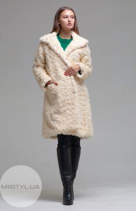 Пальто Barbara Aluisi 02AI19 Молочный